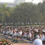 Mabes TNI Gelar Sholat Idul Fitri 1434 H