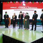 Debat Pertama Calon Gubernur Jambi Berjalan Dengan Lancar