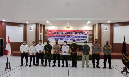 Kapolres Muaro Jambi Pimpin Pengukuhan Pengurus POKDAR Kamtibmas Resor Muaro Jambi