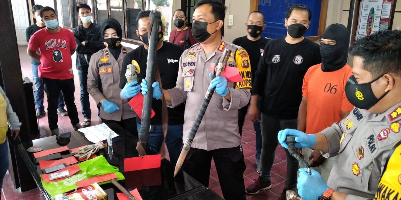 Dua Tersangka Kasus Pembobolan Alfamart / Indomaret di Kota Jambi, Berhasil Diungkap