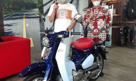 Honda Super Cub C125 Mengaspal di Jambi, Ini Pemilik Pertamanya