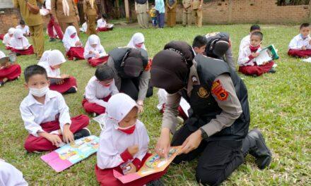 Giat Tim 02 Srikandi Squad-01 Polres Merangin Tingkat Minat Baca