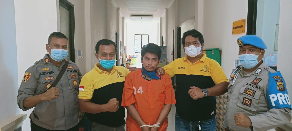 Jajaran Polsek Tungkal Ilir amankan pelaku tindak pidana penipuan
