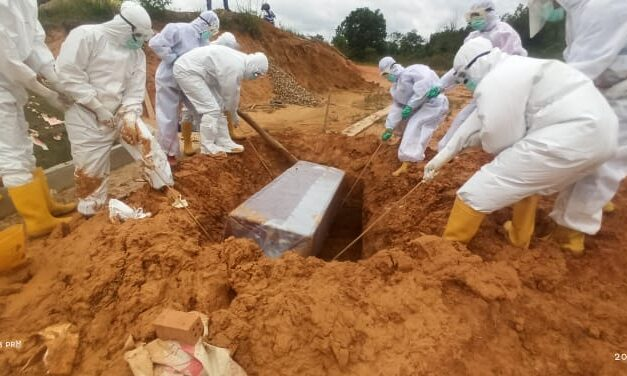 Satgas ops aman Nusa II dibawah pimpinan Aipda Hariyanto SH melaksanakan pemulasaran jenazah pasien 108 dan 109