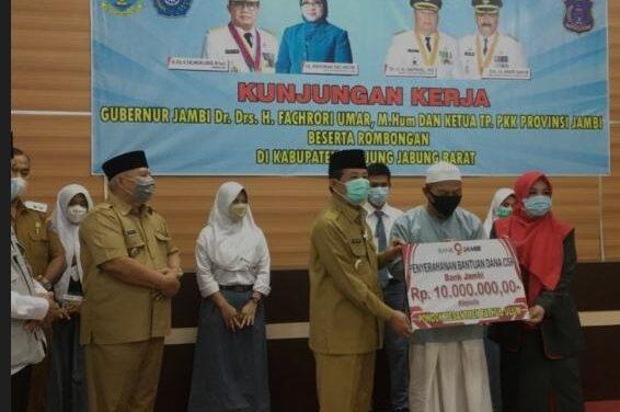 WaBup Amir Sakib Hadiri Acara Sertijab Kalapas Kuala Tungkal