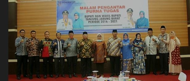 Bupati Beserta Wakil Bupati Tanjabbar Hadiri Acara Silaturahmi Bersama ASN Dilingkungan Pemkab