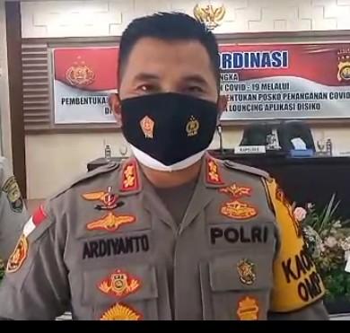 Kapolres Muaro Jambi AKBP. Ardiyanto. SIK MH akan Meningkatkan Keamanan Tempat Ibadah di Kab Muaro Jambi.
