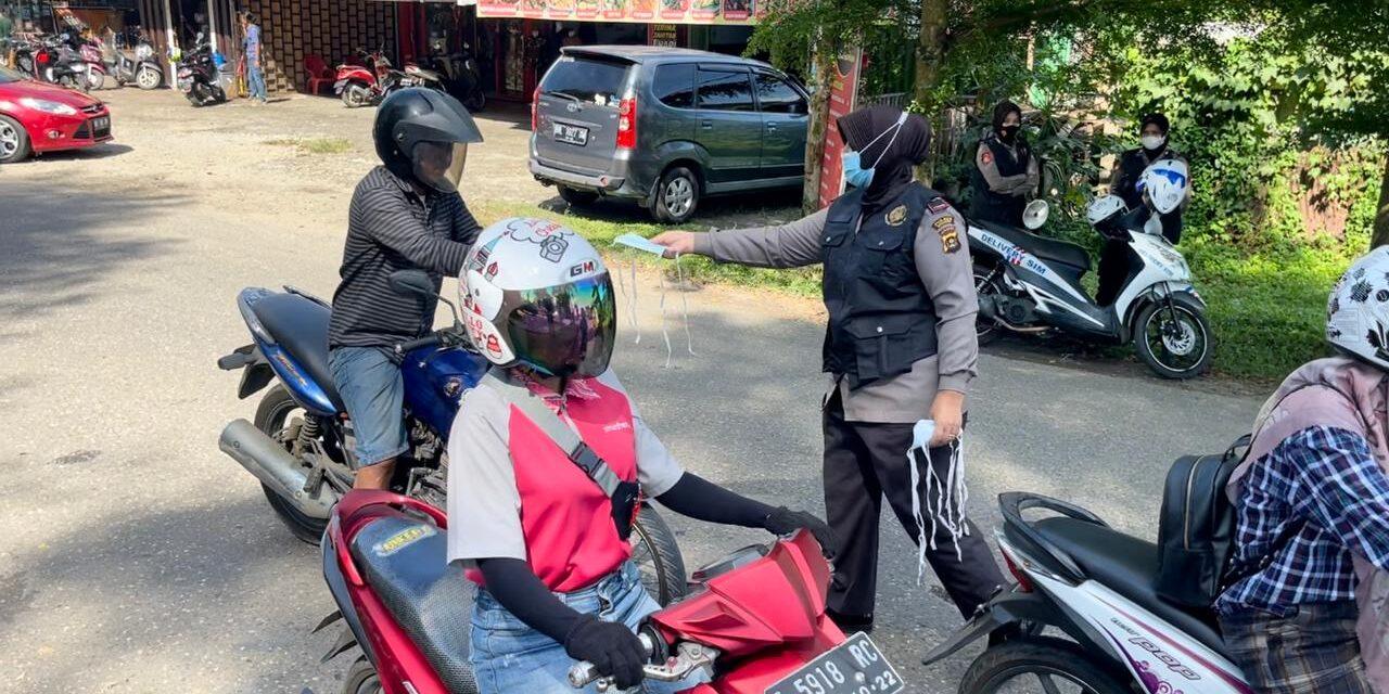 Gencar Tim 3 Srikandi Squad-01 Polres Merangin