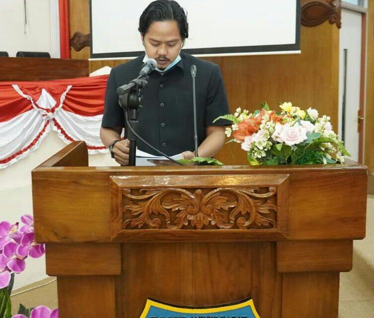 Anggota Dewan Tanjabar Syufrayogi Syaiful, Terpilih Menjadi Ketua Komisi II