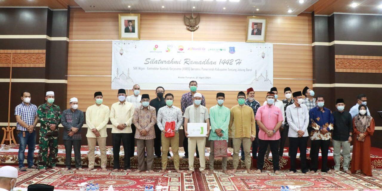 Bupati Bersama Wakil bupati Tanjab barat Terima Kunjungan Dan Silaturahmi SKK Migas Petrochina