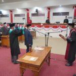 DPRD Tanjabbar Gelar Paripurna Pengucapan Sumpah/Janji Ketua DPRD Sisa Masa Jabatan tahun 2019 – 2024