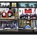 penyerahan LHP dan LKPD Tahun 2020 kepada enam Pemerintah Kabupaten /Kota