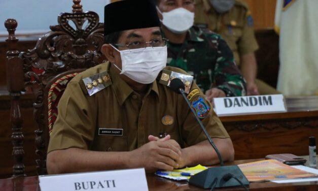 Bupati Bersama Wabup Serta Kapolres Dan Dandim, Ketua DPRD Ikuti Rapat Koordinasi Kepala Daerah Se-Indonesia Secara Virtual
