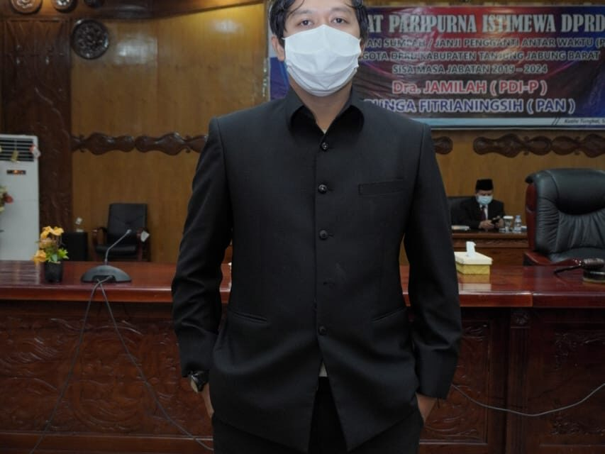 Ketua Komisi II Dprd Tanjab Barat Syufrayogi Syaiful , Minta Bupati Pertahankan Sumur Migas