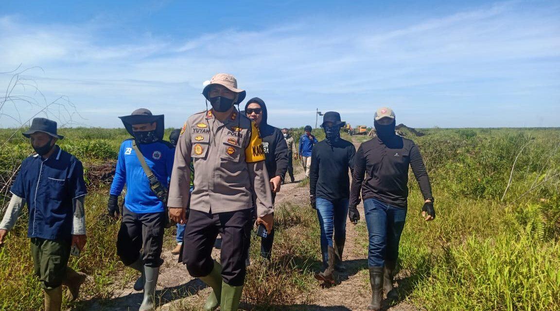 Kapolres Muaro Jambi, AKBP. Yuyan Priatmaja,.SIK. MH Kita Berdayakan Nelayan dan Warga Jaga Kanal