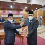 DPRD Tanjab Barat Gelar Rapat Paripurna Sumpah/Janji PAW Hasbi