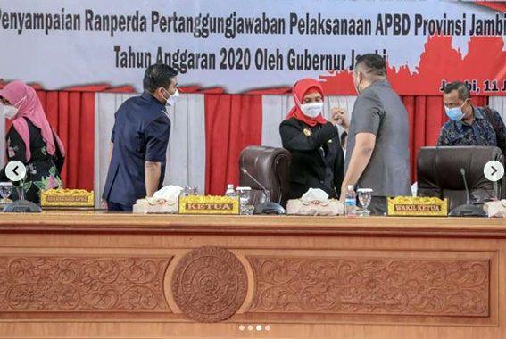 PJ.Gubernur Pamit ke DPRD Provinsi Jambi