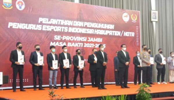 Ketua Komisi II Dprd Tanjab barat Syufrayogi Syaiful, Resmi Pimpin E-Sport Indonesia Tanjab barat