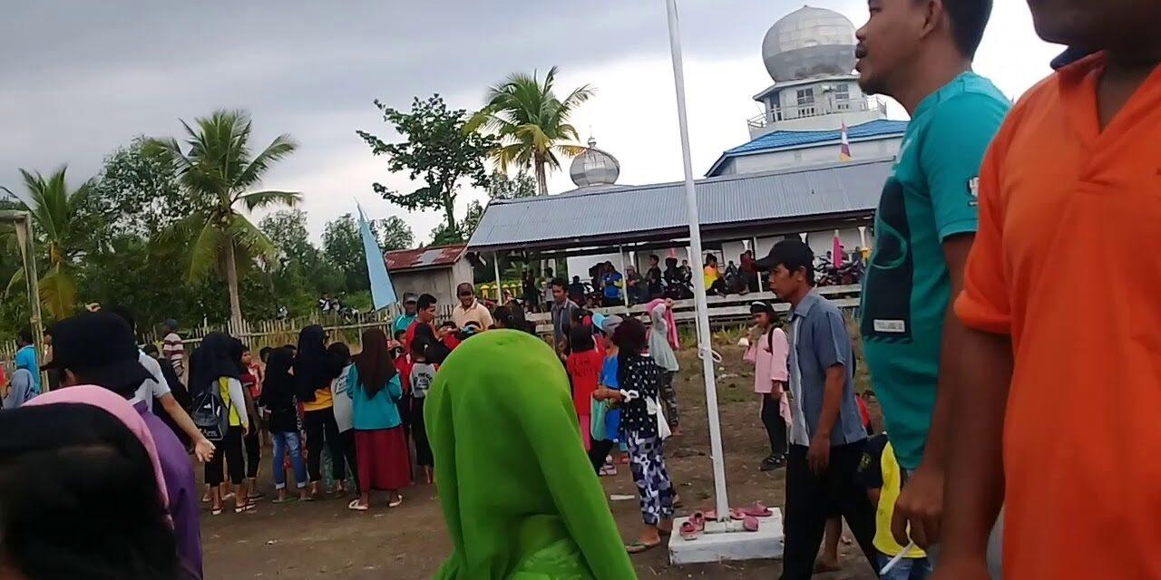 Bupati Tanjab Barat dan rombongan melakukan kunker ke Desa Serindit Kecamatan Pengabuan