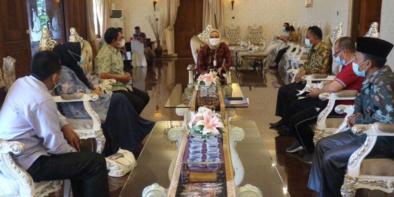Wakil Bupati Tanjab barat Koordinasi ke Pj. Gubernur Jambi Terkait Persiapan MTQ