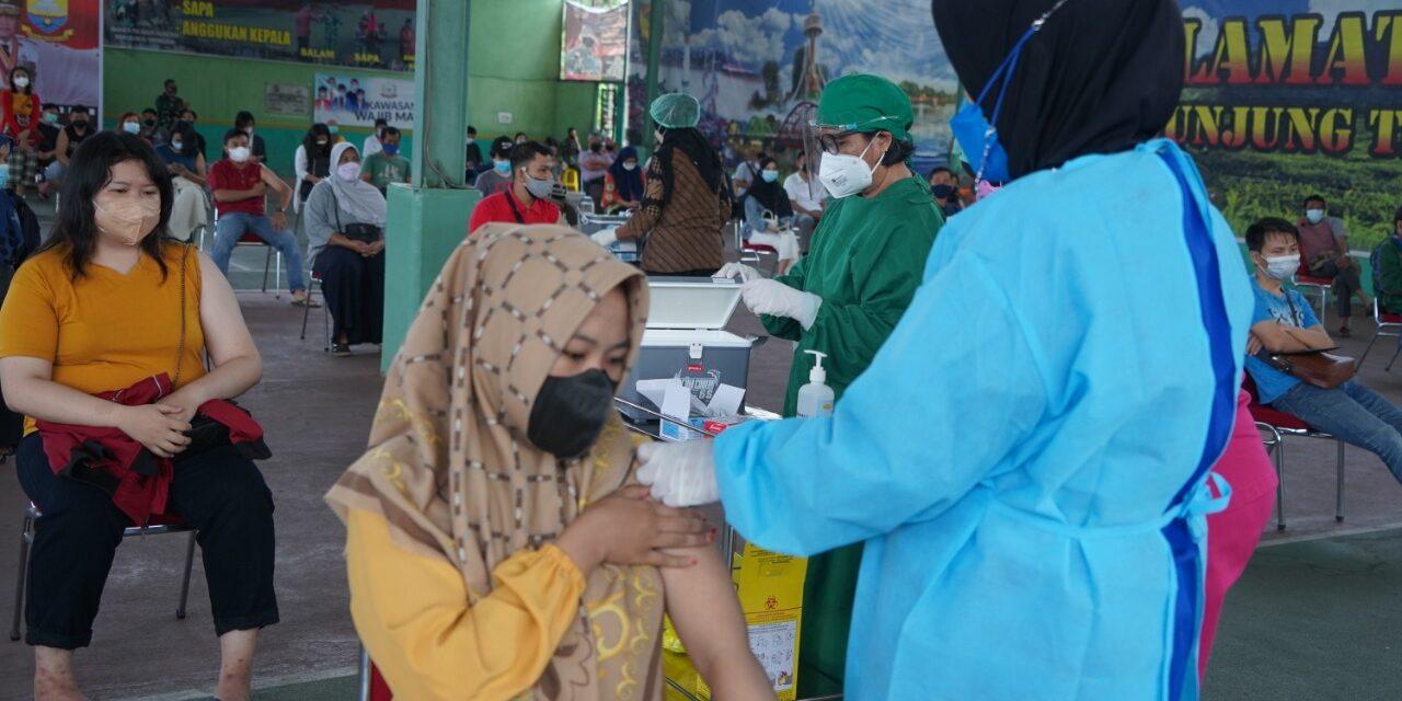 Vaksinasi Massal Kedua Untuk Warga Jambi