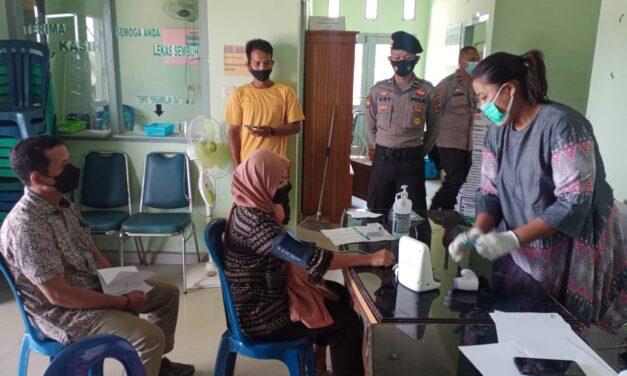 Polres Muaro Jambi Menggelar Vaksinasi Covid-19 Dosis Kedua