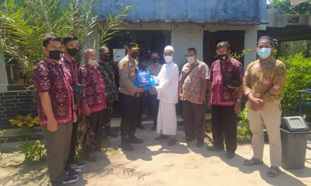 Kapolres Muaro Jambi AKBP Yuyan Priatmaja, S.I.K., Silaturahmi di Pondok Pesantren Al Faqih Desa Kasang Pudak Kumpe Ulu