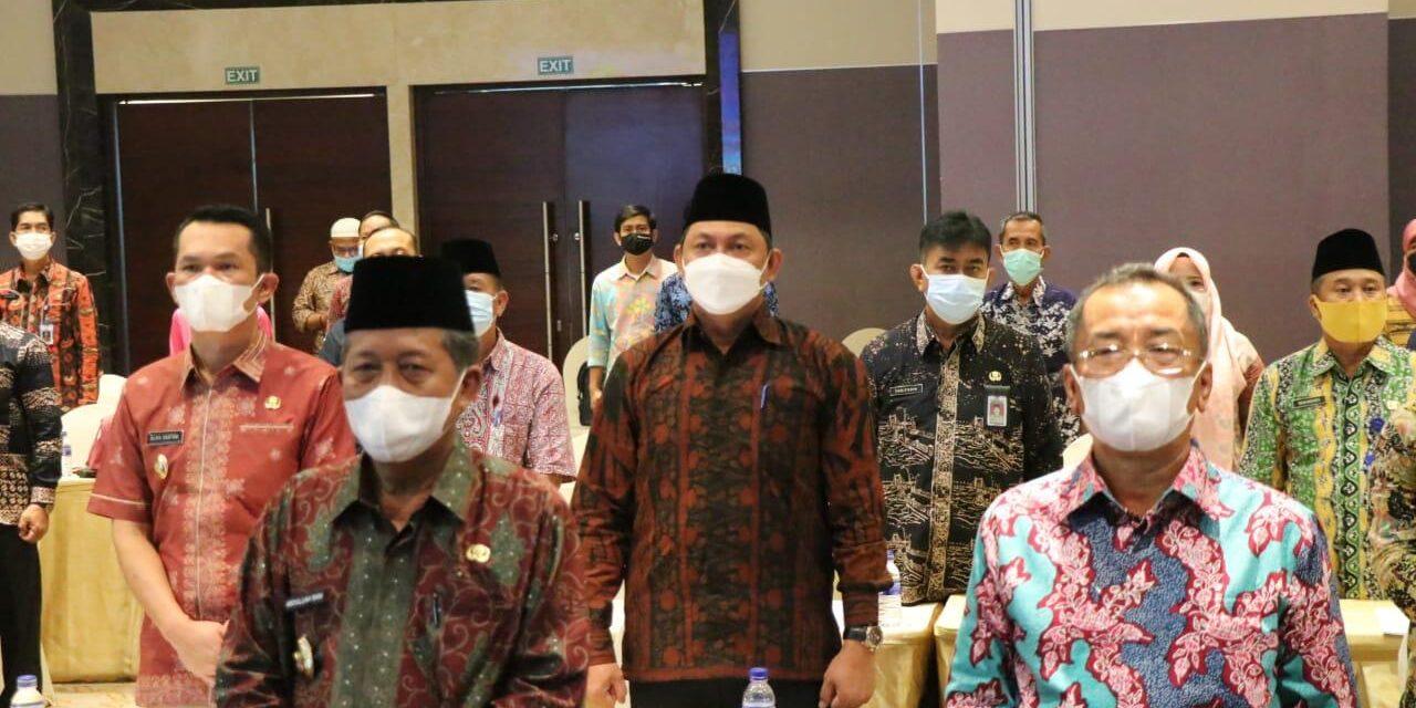 Wakil bupati Tanjab Barat Ikuti Rakor Komda Lansia Provinsi Jambi