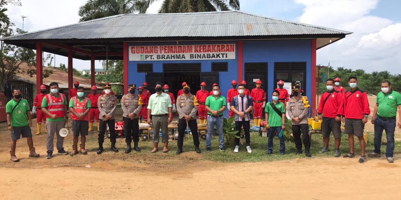 Cek Kesiapan dan Pencegahan Karhutla, Kapolres Muaro Jambi Sambangi PT BBB