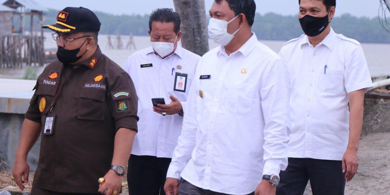 Wakil Bupati Tanjab Barat Menghadiri dan Meresmikan Peluncuran Kapal Vaksinasi Program Pelampung Polri