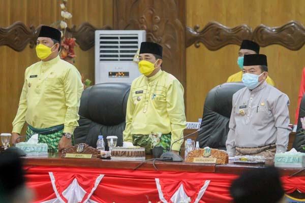DPRD Tanjab Barat Gelar Rapurna Istimewa Peringatan HUT Kabupaten ke – 56