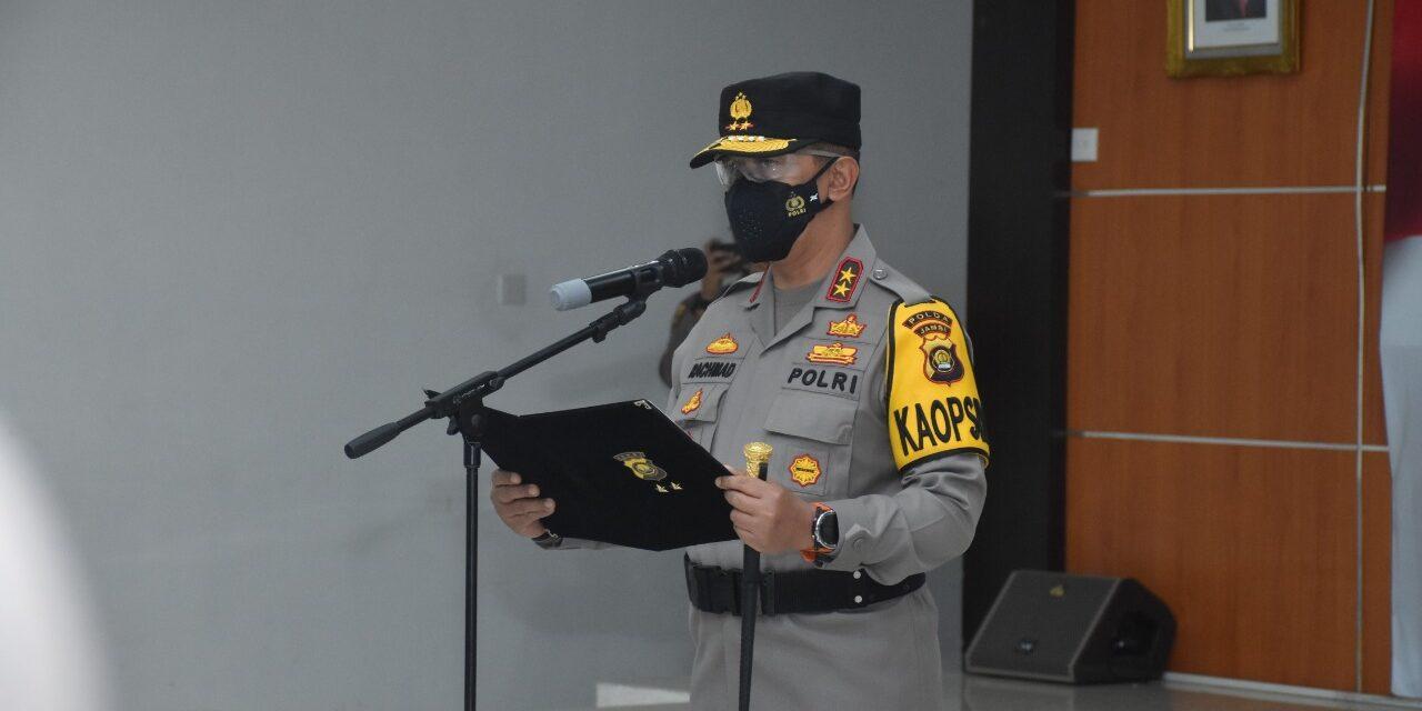 Kapolda Jambi Pimpin Sertijab 3 Penjabat Utama Dan 4 Kapolres