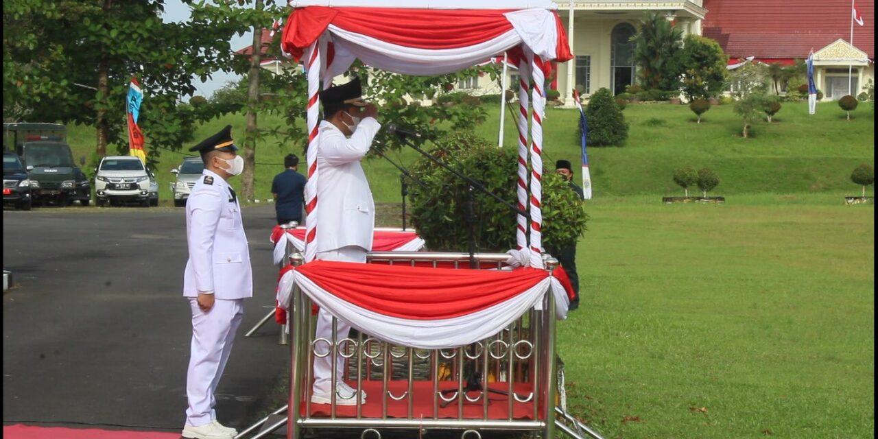 Kapolres Tanjabtim Hadiri Upacara Peringati Hut-RI Kemerdekaan Ke-76
