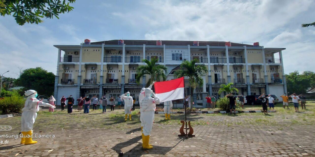 PERINGATAN HUT REPUBLIK INDONESIA KE 76 DI TEMPAT ISOLASI BPSDM JAMBI