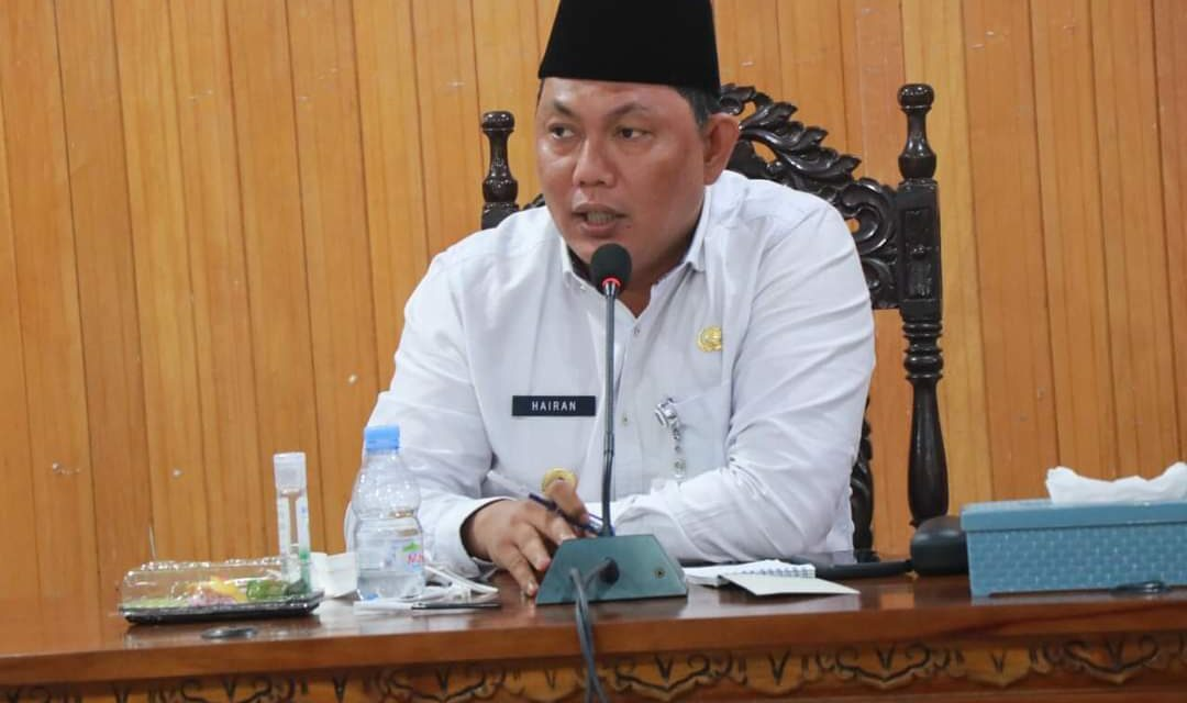Wakil Bupati Tanjabbar Pimpin Rapat Rencana Pembangunan PMKS