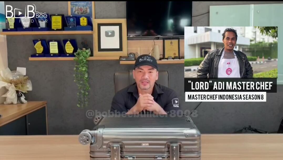 Bob Bee Builder Ingin Ajak Lord Adi Kerjasama Dibidang Kuliner