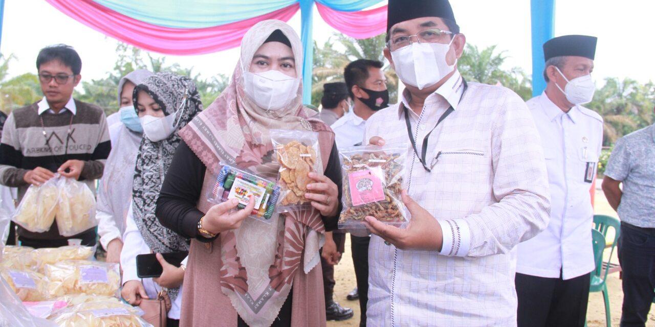 Bupati Tanjab Barat Resmikan Pertashop di Desa Adi Jaya