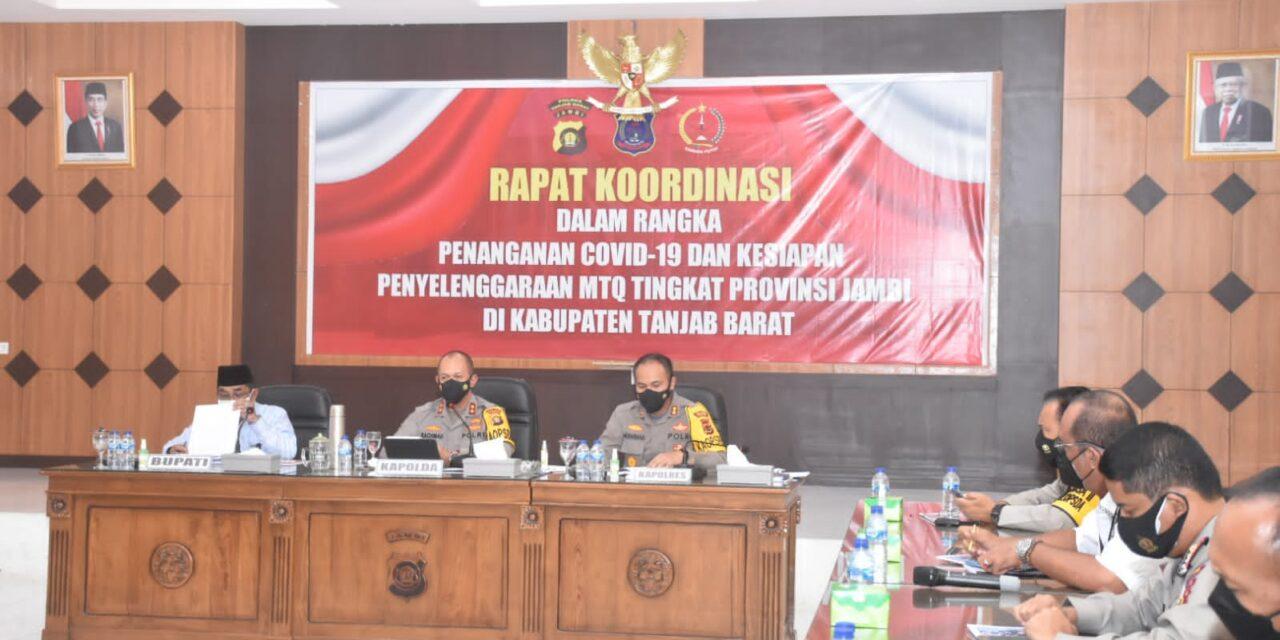 Kunjungan Kerja Kapolda Jambi ke Polres Tanjung Jabung Barat