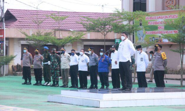 Wakil Bupati Tanjab Barat Hadiri Apel Pasukan Pengamanan MTQ Ke 50 Tingkat Provinsi Jambi